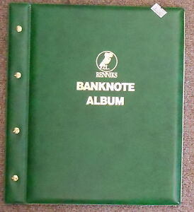 BANKNOTE ALBUM With 6 PAGES ( STOCK BOOK ) can add Extra pages