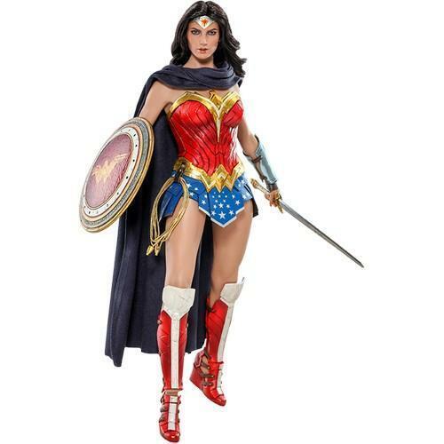 1 6 Justice League Wonder Frau Comic Concept Version Figure MMS506 Hot Toys