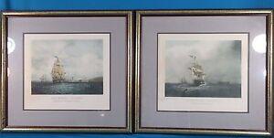 "Samuel Walters H. Pappril ""Outwart Bound & Homeward Bound"" Engraving"