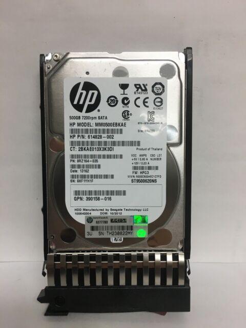 """HP 3TB 3G 7.2K 3.5/"""" SATA HDD 628059-B21 628180-001 Hard Drive"""