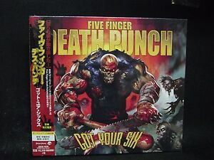 five finger death punch got your six 3 japan cd u p o motograter ghost machine. Black Bedroom Furniture Sets. Home Design Ideas