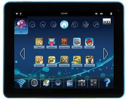 "1 of 1 - KURIO TAB XL 10"" KIDS TABLET TOUCHSCREEN 4GB WiFi ANDROID CHILDSAFE, Learn/Fun"