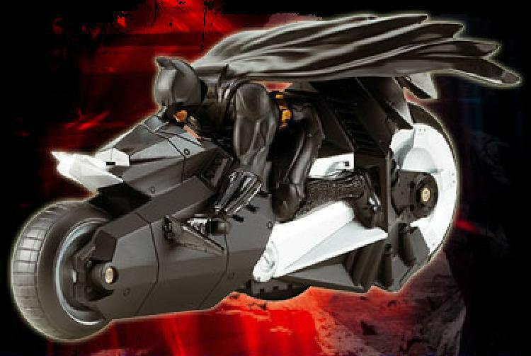 Batman - dark knight - batcycle  selbstfahrende action - spielzeug, das sich wirklich bewegt