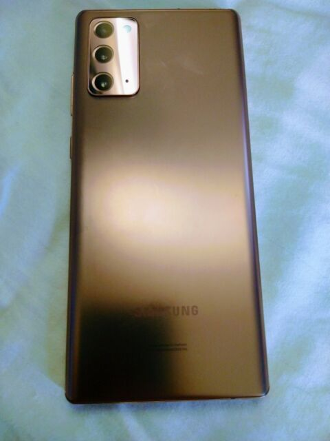 Samsung Galaxy Note20 5G SM-N981U - 128GB - Mystic Bronze (Verizon)