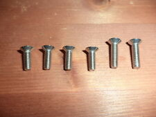 SUZUKI GSX 1100F GSX1100F 1988-97 STAINLESS FRONT + REAR MASTER CYLINDER SCREWS