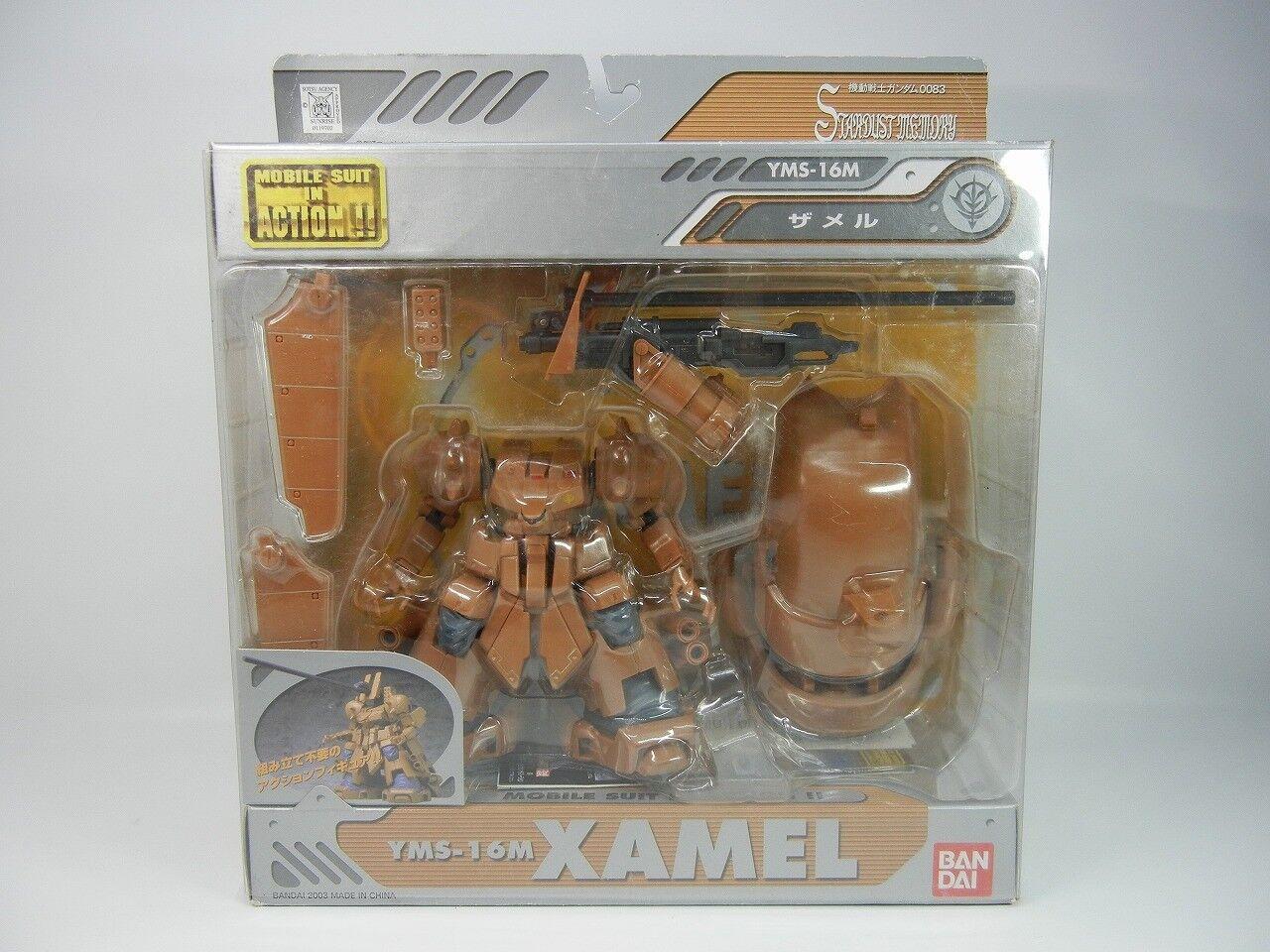 MSIA Gundam 0083   YMS-16M Xamel  Japan ver.   Very rare  azione cifra Beai  qualità ufficiale