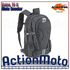 Zaino moto scooter Kappa RA313 inserti termoformati spallacci imbottiti 15 Lt