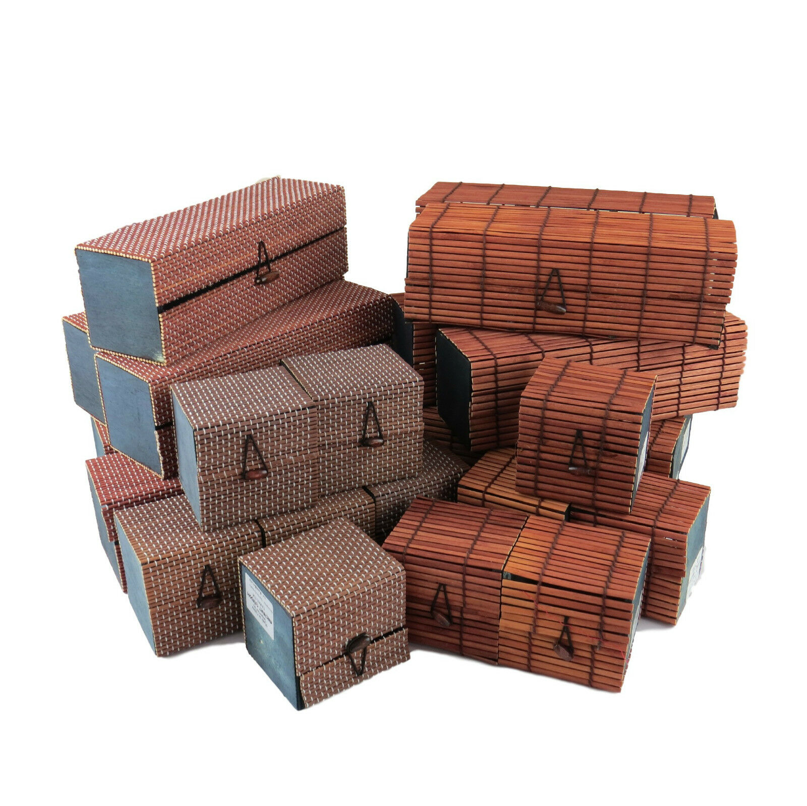 Wholesale Selection of Four Different Design Bamboo Gift Boxes