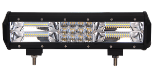 """Tri-Row 12inch 180W LED Work Light Bar Combo Offroad Driving SUV Boat ATV 16/18"""""""