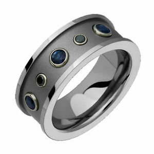 Image Is Loading Anium Ring Genuine Shire Comfort Fit 10mm Wide