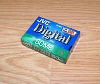 Genuine Jvc Digital (dvm60) 60me Mini Dv 90 Minute Video Cassette New-read