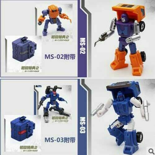 Mech Fans Toys MS 02 ENGINEER 03 HEIKEW Mechanic Lost Planet Powered Suit Figure