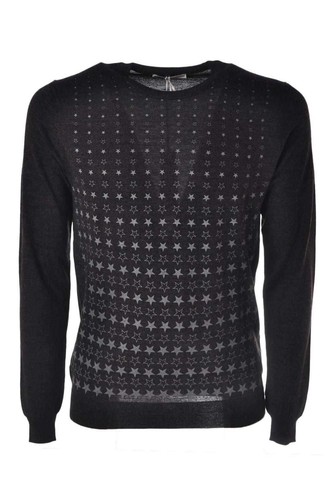 Daniele Alessandrini  -  Sweaters - Male - Grau - 4384525A183934