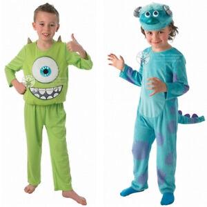 Monster Kostuem Fuer Jungen.Monster Ag Kostum Fur Kinder Und Erwachsene Sonderpreis Mike Sully Schreie Ebay