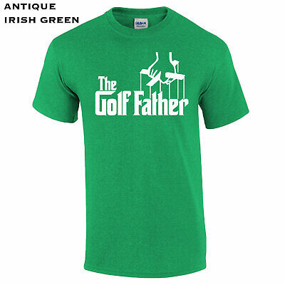 Funny Golfing Dad THE GOLFFATHER Father T-Shirt Funny Golfer Gift Idea