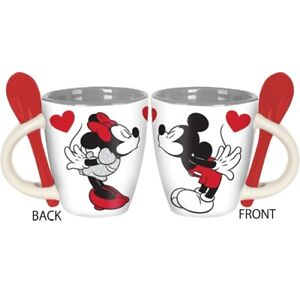 Mickey-and-Minnie-Kiss-Espresso-Cup-with-Spoon