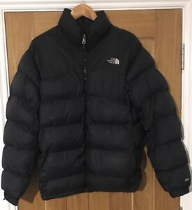 The-North-Face-700-Down-Mens-Size-M-M-Black-Jacket