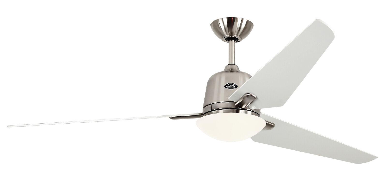 CasaFan ECO AVIATOS ceiling fan 162cm 516090 brushed chrome / white