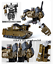 """miniature 6 - New In Stock Bruticus G1 Combaticons HZX 5 In 1 Action Figure IDW 12"""" Kids Toys"""