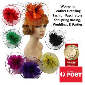 Image is loading Women-039-s-Fashion-Fascinators-Spring-Races-Melbourne- 57e534d59c1