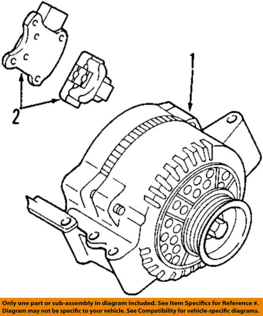 Buy Ford Oem Alternator F7pz10346karm2 Online