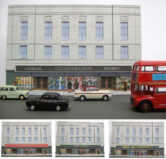Kingsway, 00 scale,Large departSiet store, Kit build service.