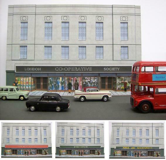 Kingsway, 00 scale,Large department store, Kit build service.