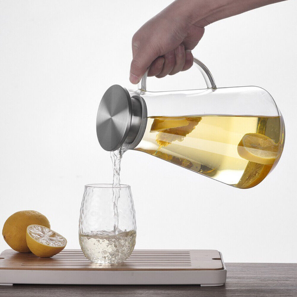 Glass Water Pitcher Heat L Filter