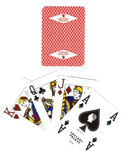 CAESARS PALACE LAS VEGAS 2 DECKS DIAMOND LOGO CASINO PLAYING CARDS FREE S//H
