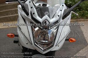 Yamaha XJ600 Diversion XJ6 10 11 Front Rear Fairing Number Board Gel Protector