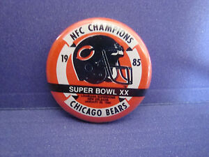 9cc06b65e Image is loading NFC-CHAMPIONS-039-85-Super-Bowl-XX-LA-