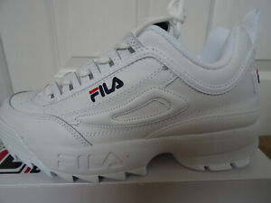 Details zu Fila Disruptor II Premium trainers shoes F1477501 uk 8 eu 42.5  us 9 NEW+BOX