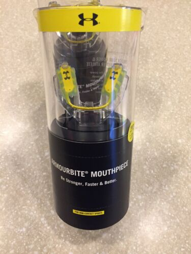 Under Armour ArmourBite Sport Mouthpiece /& Fitting Tool Youth Small Adult NEW