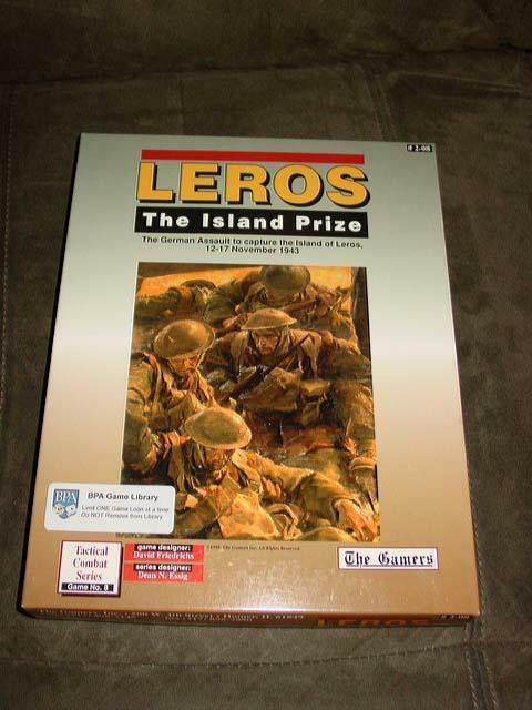 The Gamers - LEROS -The Island Prize  German Assault to Capture Leros(UNPUNCHED)