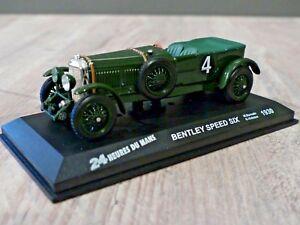 Bentley Speed Six #4 winner Le Mans 1930 Barnato/Kidston Ixo/Altaya 1/43e
