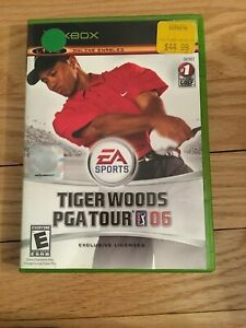 EA-SPORTS-TIGER-WOODS-PGA-TOUR-06-XBOX-COMPLETE-WITH-MANUAL-FREE-S-H-TT