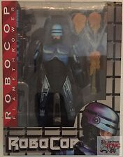 "ROBOCOP FLAMETHROWER NECA Reel Toys SEGA 2014 7"" Inch ACTION FIGURE"