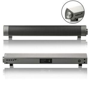 Barre-de-Son-Enceinte-Portable-Bluetooth-Haut-parleur-Lecteur-Carte-TF-MP3