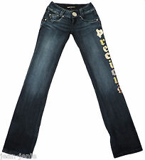 Women's MISS SIXTY Slim Skinny Long Leg Designer Denim Jeans 28 x 38