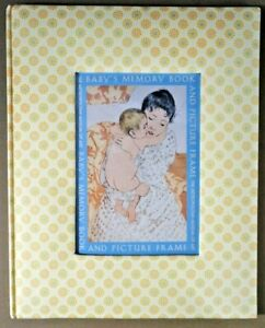 Baby-Memory-Book-Picture-Frame-Metropolitan-Museum-of-Art-first-year-record-new