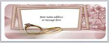 30 Personalized Return Address Labels Wedding Buy 3 get 1 free (bo559)