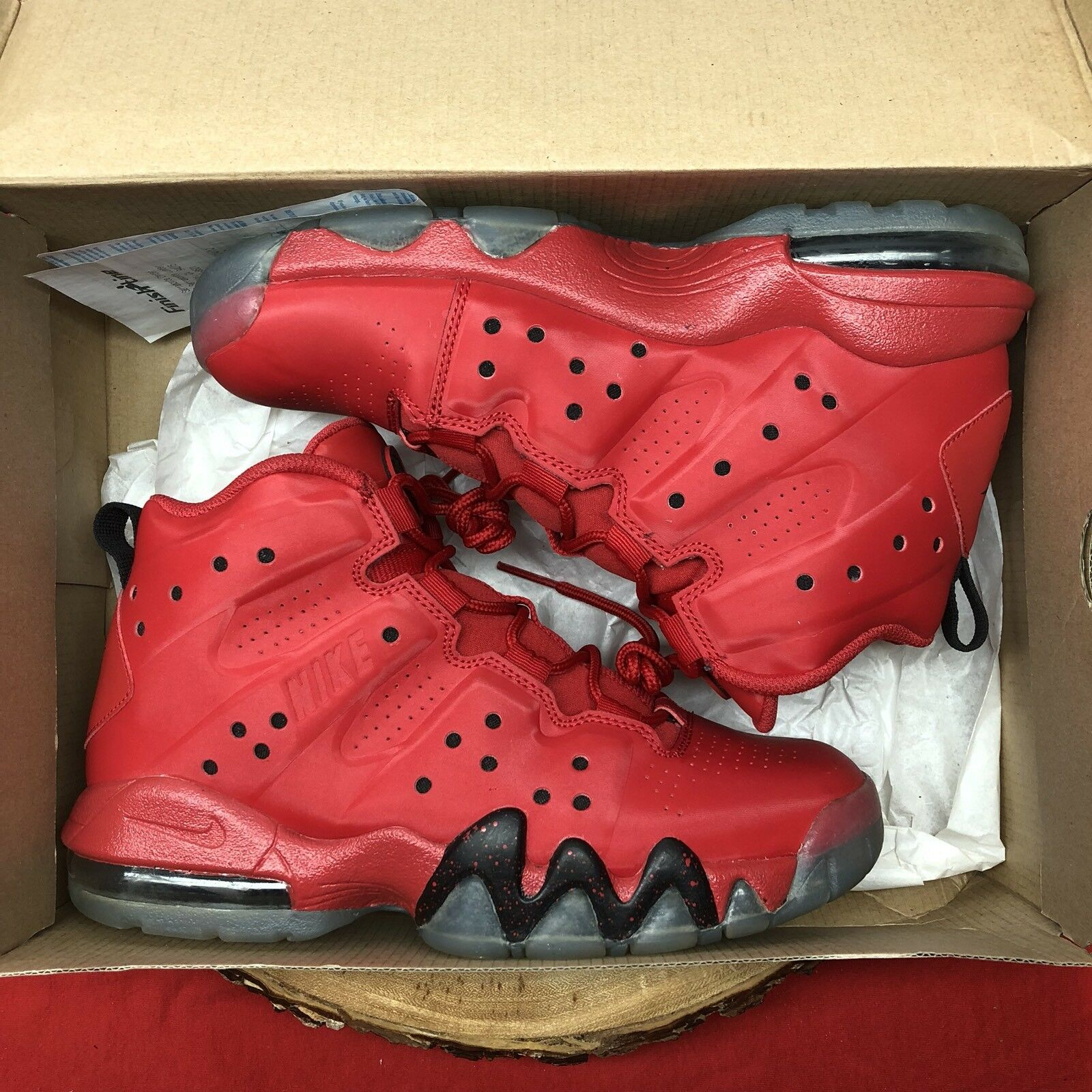 a2ac62cc1bd3 NIKE AIR MAX BARKLEY (GS) UNIVERSITY RED SZ SZ SZ 6.5Y 488245-660 ...
