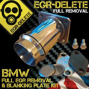 bmw egr delete e46 330d e60 530d e65 e83 egr removal kit blanking plate bypass ebay. Black Bedroom Furniture Sets. Home Design Ideas