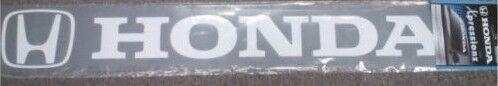 honda white truck auto sticker decal window logo  windshield window brow