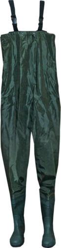 YORK Traveller Wathose Anglerhose Gummistiefel Waders 100/% wasserdicht Gr 41-46