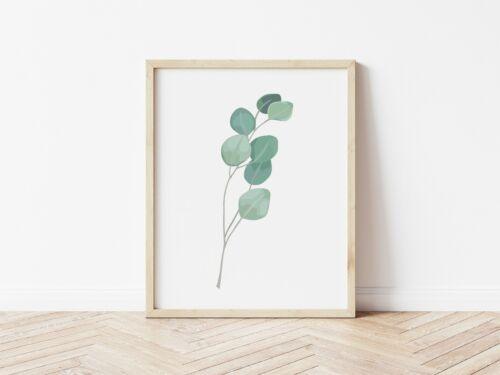 Botanical Print Leaf Plant Picture Prints Wall Art Living Room Home Decor Poster