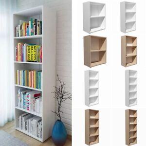 Dettagli su Libreria Scaffale Design Mensola Parete Muro Moderno Soggiorno  2/3/4/5 Ripiani