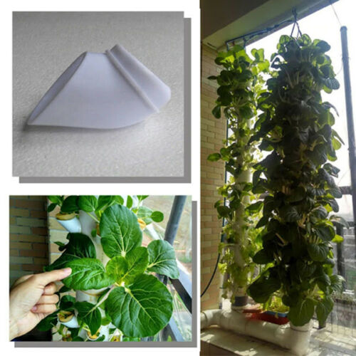 100Pcs Hydroponic Pot For Vertical Tower Growing System Soilless Device Farm DIY