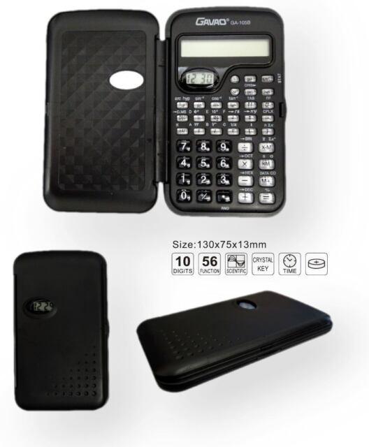 Multi Functional Pocket Scientific Calculator With Clock Student School College