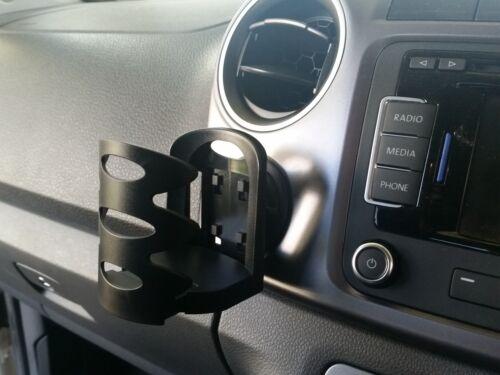 Wireless Phone and Cup Holder Bundle VW Amarok